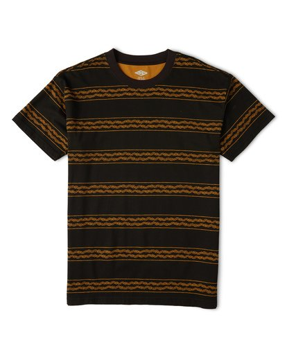 3 Tucker Stripe T-Shirt  M404WBVR Billabong