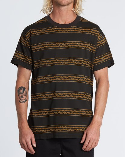 0 Tucker Stripe T-Shirt  M404WBVR Billabong