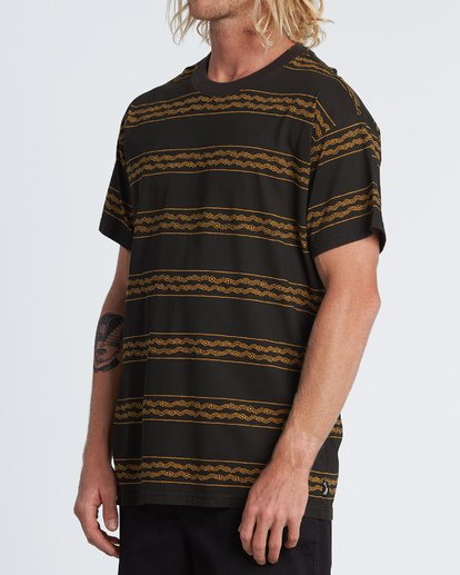 1 Tucker Stripe T-Shirt Black M404WBVR Billabong