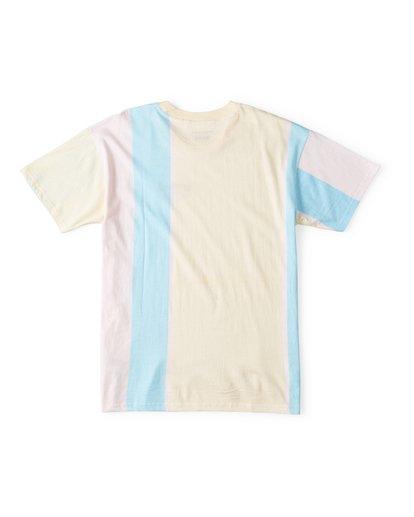 1 Hux Short Sleeve T-Shirt Pink M404WBXE Billabong