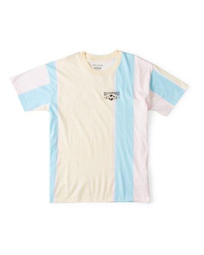 0 Hux Short Sleeve T-Shirt Pink M404WBXE Billabong
