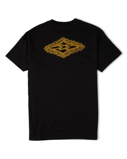 4 Creator Diamond Tee Short Sleeve T-Shirt Black M404WBXR Billabong