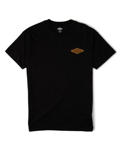 3 Creator Diamond Tee Short Sleeve T-Shirt Black M404WBXR Billabong