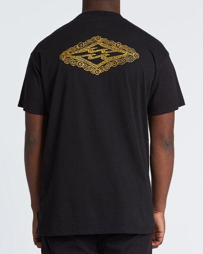 2 Creator Diamond Tee Short Sleeve T-Shirt Black M404WBXR Billabong