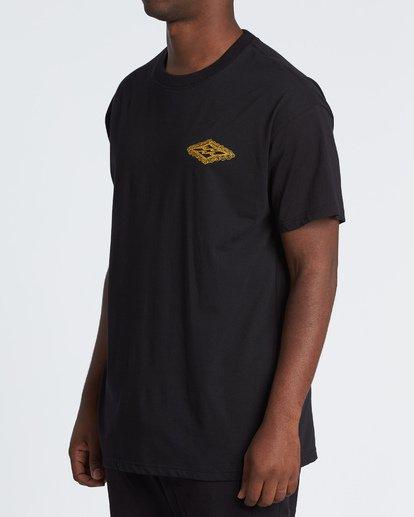 1 Creator Diamond Tee Short Sleeve T-Shirt Black M404WBXR Billabong