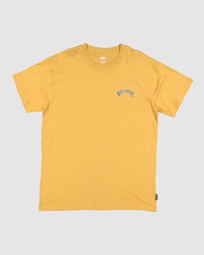 0 Serpent Arch T-Shirt Beige M404WBYR Billabong