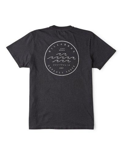 1 Wavy Davy Short Sleeve T-Shirt Black M404WBZE Billabong