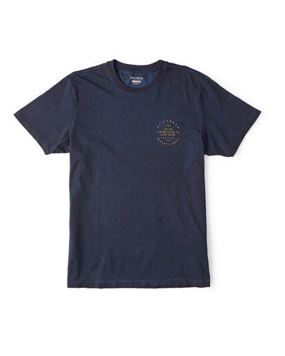 0 Wavy Davy Short Sleeve T-Shirt Blue M404WBZE Billabong