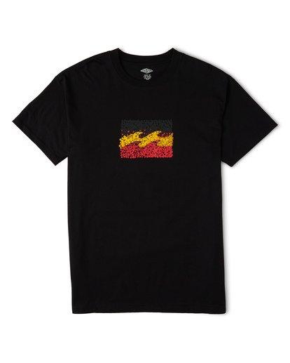 3 Peace and Love T-Shirt Black M404WBZR Billabong
