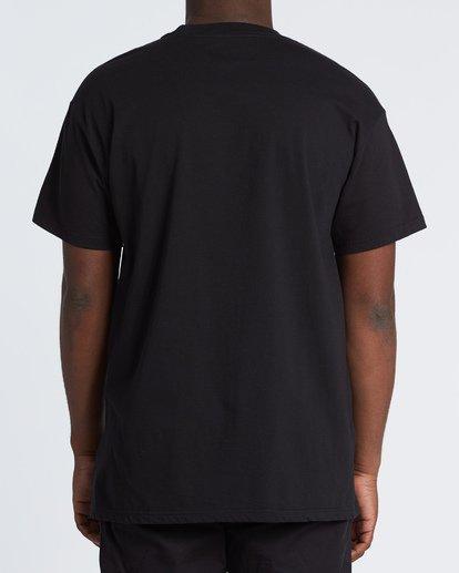 2 Peace and Love T-Shirt Black M404WBZR Billabong