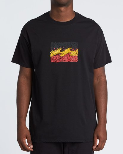0 Peace and Love T-Shirt Black M404WBZR Billabong