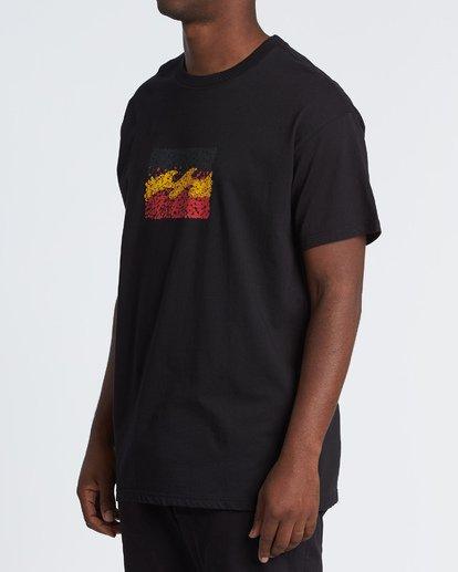 1 Peace and Love T-Shirt Black M404WBZR Billabong