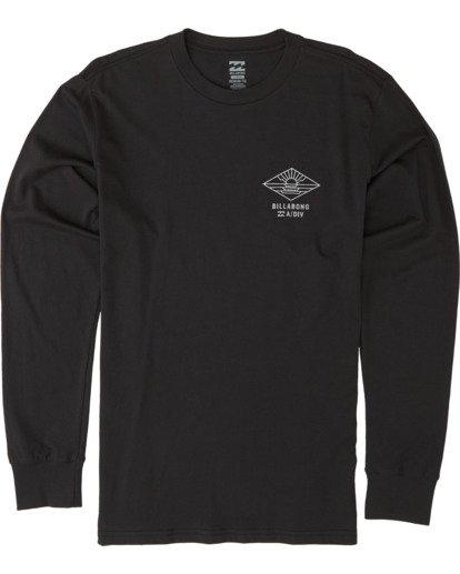 3 A Frame Long Sleeve T-Shirt Black M4051BAF Billabong