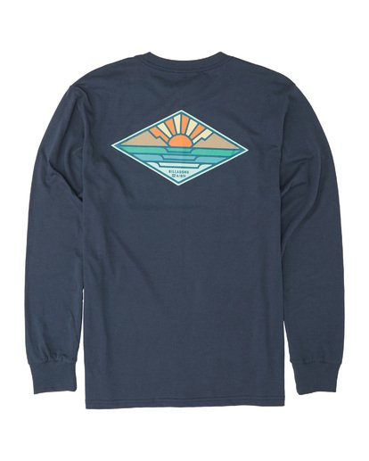 4 A Frame Long Sleeve T-Shirt Blue M4051BAF Billabong