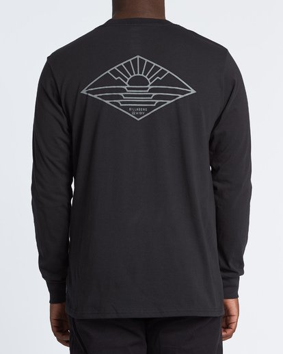 2 A Frame Long Sleeve T-Shirt Black M4051BAF Billabong