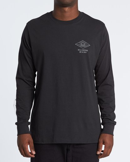 0 A Frame Long Sleeve T-Shirt Black M4051BAF Billabong
