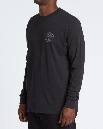 1 A Frame Long Sleeve T-Shirt Black M4051BAF Billabong