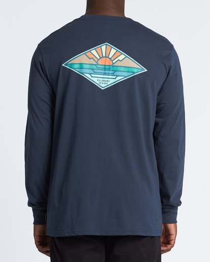 2 A Frame Long Sleeve T-Shirt Blue M4051BAF Billabong