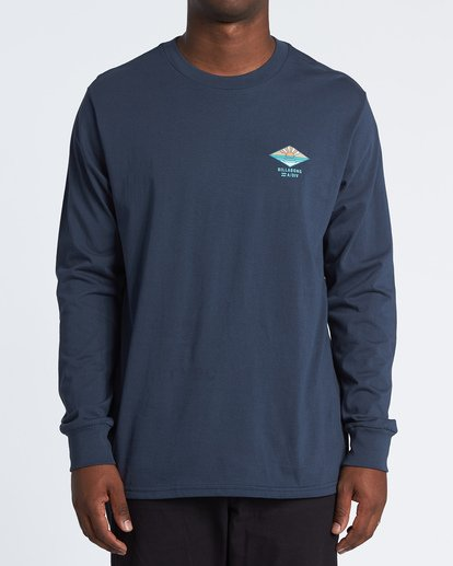 0 A Frame Long Sleeve T-Shirt Blue M4051BAF Billabong