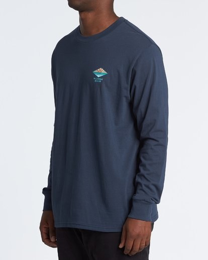 1 A Frame Long Sleeve T-Shirt Blue M4051BAF Billabong