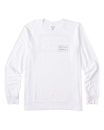 3 EC-Diecut Long Sleeve T-Shirt White M4051BEC Billabong