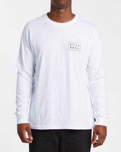 0 EC-Diecut Long Sleeve T-Shirt White M4051BEC Billabong