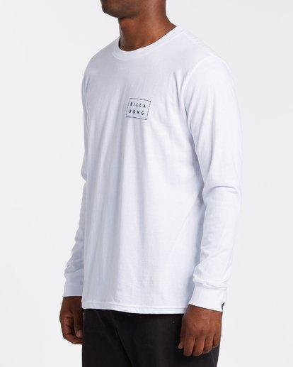 1 EC-Diecut Long Sleeve T-Shirt White M4051BEC Billabong