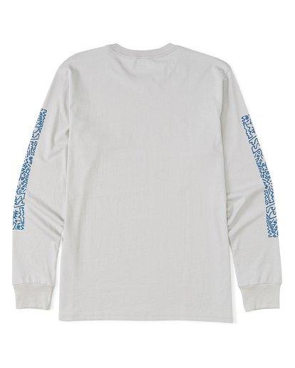 4 Hiero  Long Sleeve T-Shirt Grey M4051BHE Billabong