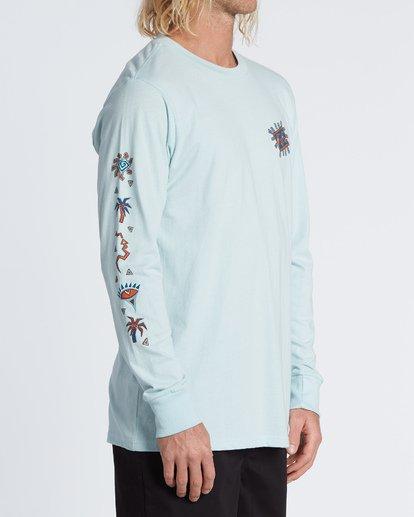 2 Hiero  Long Sleeve T-Shirt  M4051BHE Billabong