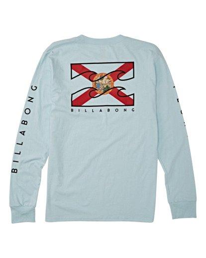 1 Native Florida Long Sleeve T-Shirt Blue M4051BNF Billabong