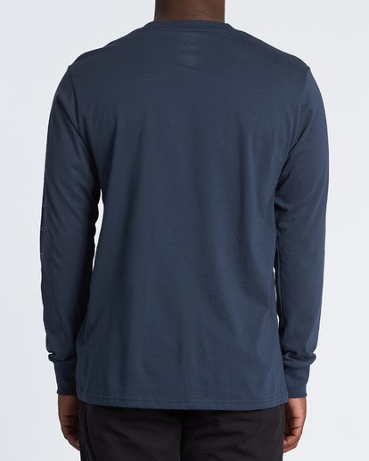 2 Oscura Long Sleeve T-Shirt Blue M4051BOS Billabong