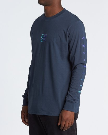 1 Oscura Long Sleeve T-Shirt Blue M4051BOS Billabong
