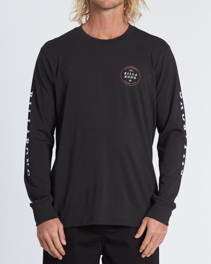 0 Rotor California Long Sleeve T-Shirt Black M4051BRC Billabong