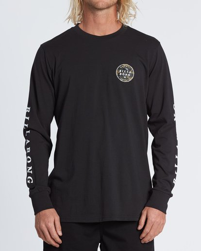 0 Rotor Hawaii Long Sleeve T-Shirt Black M4051BRH Billabong