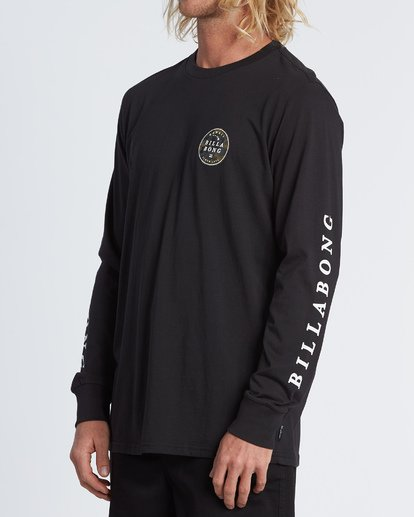 1 Rotor Hawaii Long Sleeve T-Shirt Black M4051BRH Billabong