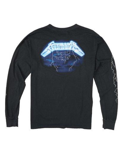 4 Ride The Lightning Long Sleeve T-Shirt Black M4051BRL Billabong