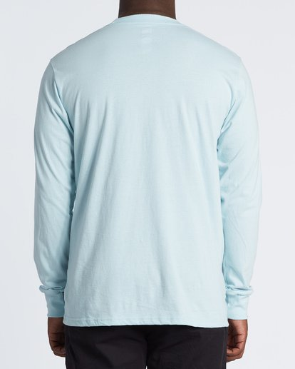 2 Rotor Long Sleeve T-Shirt Blue M4051BRO Billabong