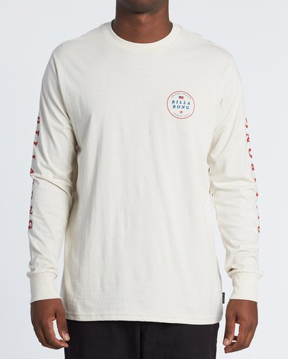 0 Rotor USA Long Sleeve T-Shirt Brown M4051BRU Billabong