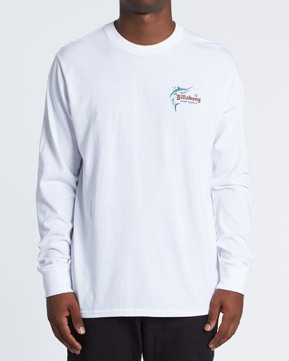 0 Surf Lounge Long Sleeve T-Shirt White M4051BSU Billabong
