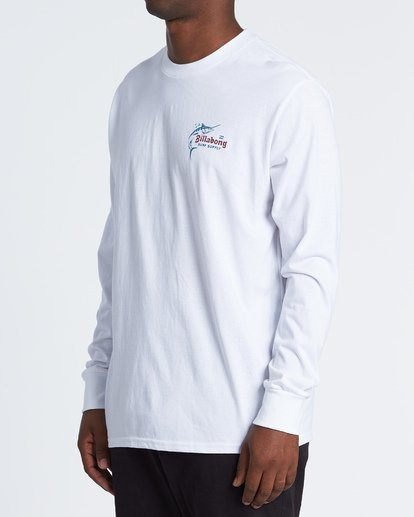1 Surf Lounge Long Sleeve T-Shirt White M4051BSU Billabong