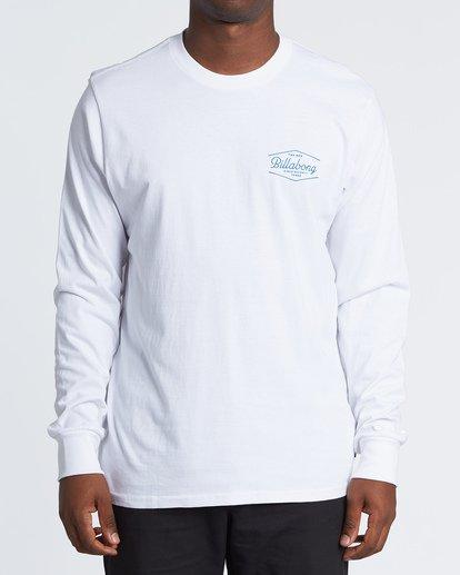 0 Trademark  Long Sleeve T-Shirt White M4051BTE Billabong