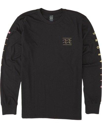 3 Unity Long Sleeve T-Shirt Black M4051BUN Billabong