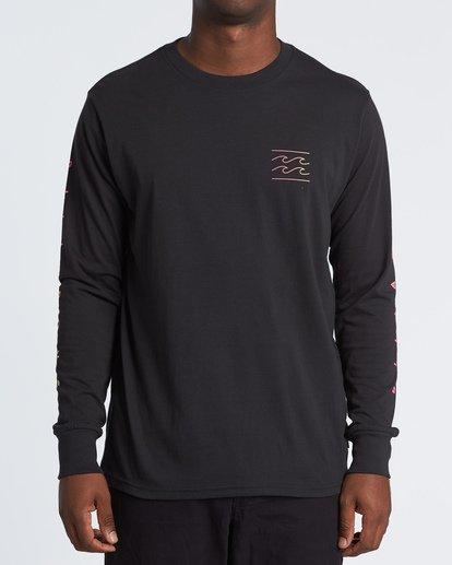 0 Unity Long Sleeve T-Shirt Black M4051BUN Billabong