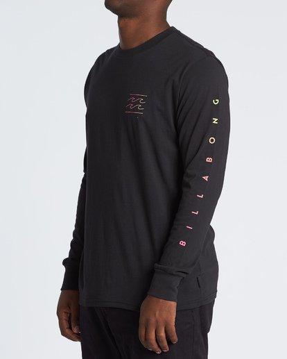 1 Unity Long Sleeve T-Shirt Black M4051BUN Billabong