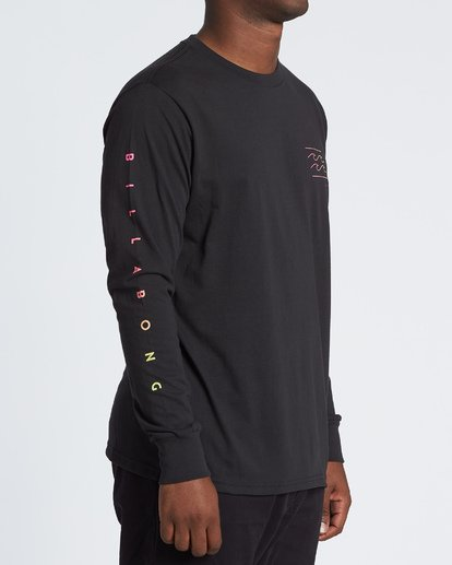 2 Unity Long Sleeve T-Shirt Black M4051BUN Billabong