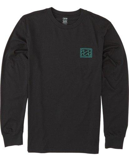3 Warchild Long Sleeve T-Shirt Black M4051BWC Billabong