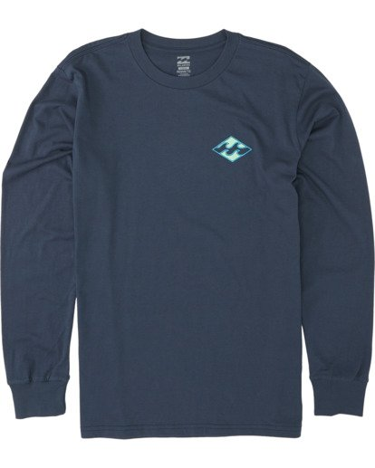 3 Warchild Long Sleeve T-Shirt Blue M4051BWC Billabong