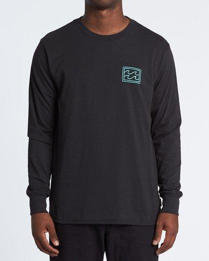 0 Warchild Long Sleeve T-Shirt Black M4051BWC Billabong