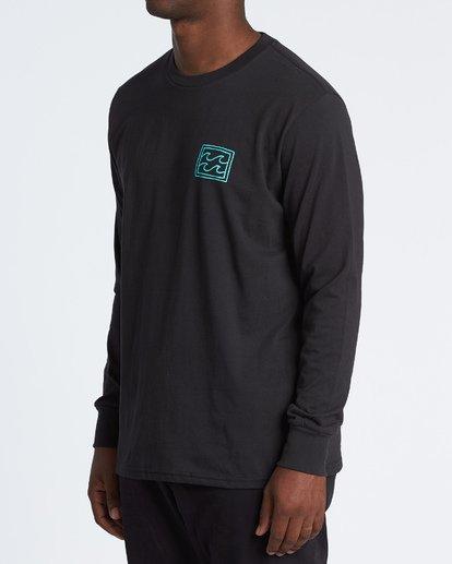 1 Warchild Long Sleeve T-Shirt Black M4051BWC Billabong