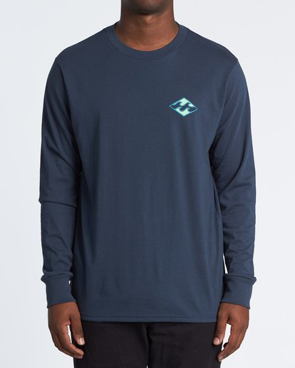 0 Warchild Long Sleeve T-Shirt Blue M4051BWC Billabong